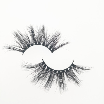 Qingdao Veteran make your own brand eyelashes fashion 3d mink eyelashes wholesale with packaging box