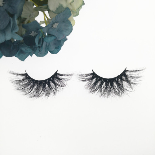 Qingdao Veteran fashion best 3d mink individual cluster eyelashes with box false eyelashes