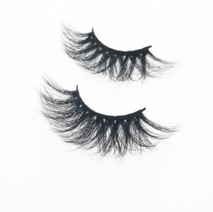 Qingdao Veteran fashion best 3d mink individual cluster eyelashes with box false eyelashes