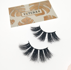Qingdao Veteran best selling eyelashes mink eyelashes cruelty free with custom packaging