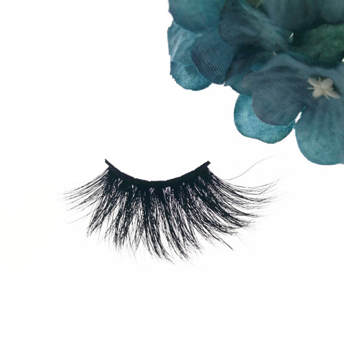 Qingdao Veteran 3d mink eyelashes vendor 25mm mink eyelash with custom eyelash packaging box