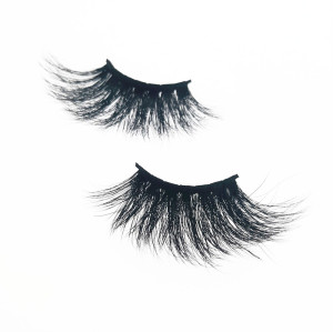 Qingdao Veteran 3d mink eyelashes vendor 25mm mink eyelash with custom eyelash packaging box