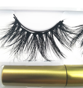 Qingdao Veteran best selling 2019 private label  magnetic eyeliner eyelashes  with eyelash case