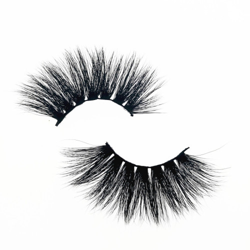 Qingdao Veteran 25 mm siberian 3d mink eyelash wholesale with mink eyelash round box