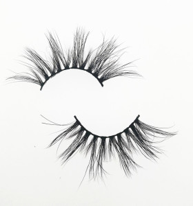 Qingdao Veteran Best quality 25mm 5d mink eyelash with mink lashes custom eyelash packaging