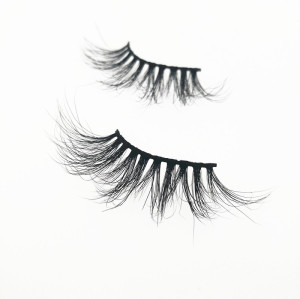 Qingdao Veteran Best quality 25mm 5d mink eyelash with mink lashes custom eyelash packaging