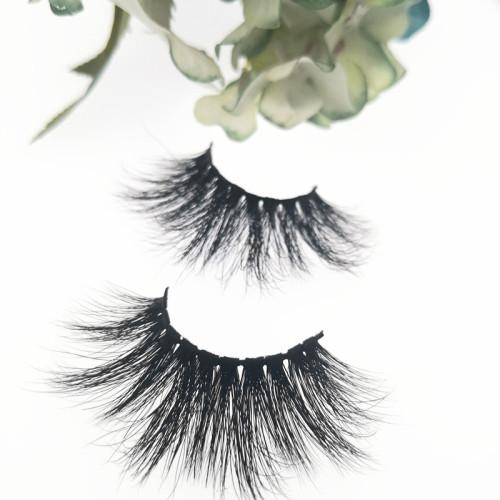 Qingdao Veteran best selling siberian mink 3d  25mm eyelashes wholesale with eyelash packaging box