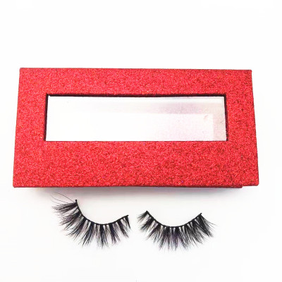 Best quality customized packaging and logo printing mink eyelashes regular mink lashes