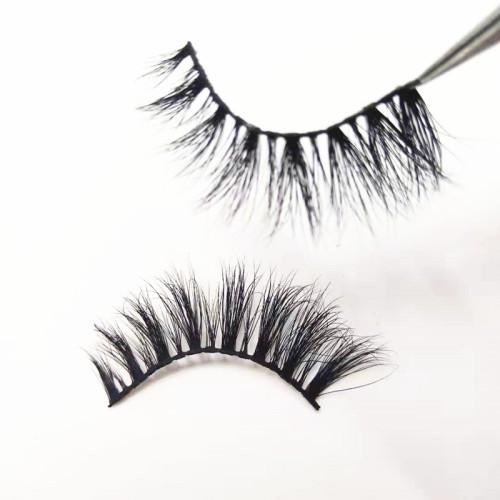 Best quality customized packaging and logo printing mink eyelashes regular mink lashes