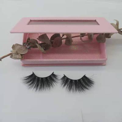 Manufacturer Vendors Supplies 25mm Mink eyelash vendor handmade with marble custom box your own brand