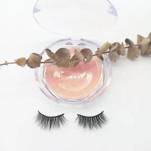 China Supplier Hot selling cruelty free 3d mink eyelashes regular length