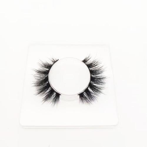best quality eyelash strip Own Brand Custom Package Private Label 3D Mink Eyelashes Regular Length