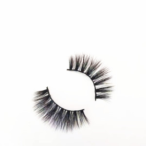 Newest popular mink  eyelash  regular length with custom package box