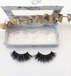 China Supplier wholesale private label real mink eyelashes False Natural Strip