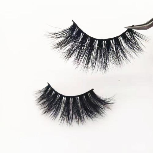China Supplier wholesale private label real mink eyelashes False Natural Strip