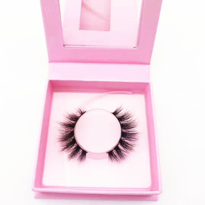 best quality eyelash strip Own Brand Custom Package Private Label 3D Mink Eyelashes Regular Length