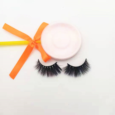Qingdao veteran new style hot sales cruelty free  mink eyelashes