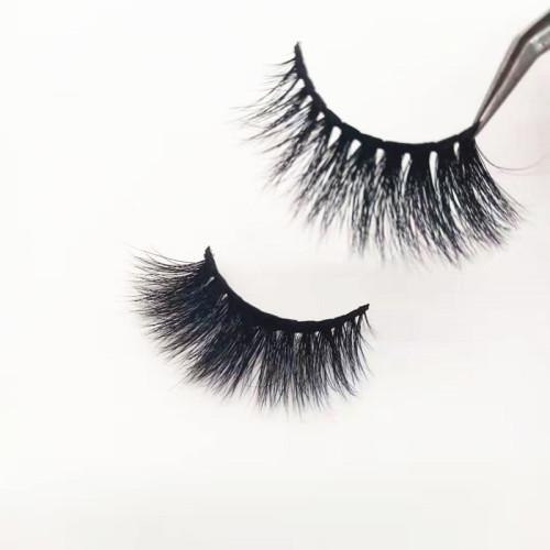 Qingdao veteran new style hot sales cruelty free  mink eyelashes