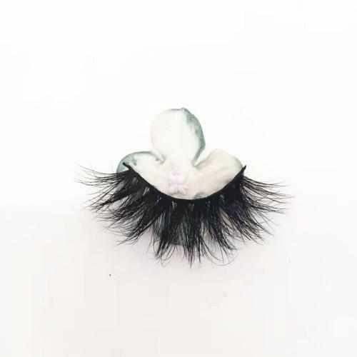 Manufacturer Vendors Supplies  Mink eyelash vendor handmade  with marble custom box your own brand