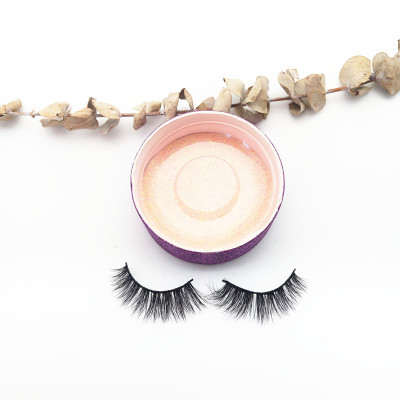 China Supplier wholesale private label mink eyelashes False Natural Strip Real Mink Eyelashes