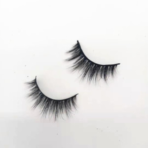 Wholesale Make Own Brand  Faux Mink Eyelashes Vendor Silk Fake Lashes Real Mink Eyelashes