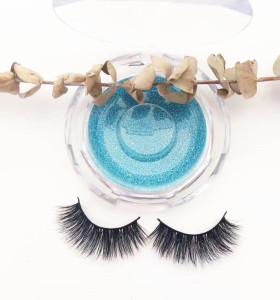 Qingdao veteran 100% handmade mink eyelash with custom package boxes