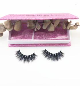 100% Natural Material Hand-made regular length  Mink Eyelashes