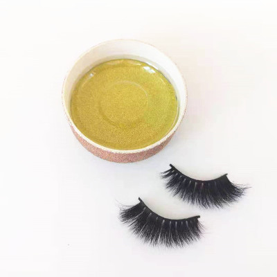 Qingdao veteran human Hair Material and Natural Black  mink eyelashes private label