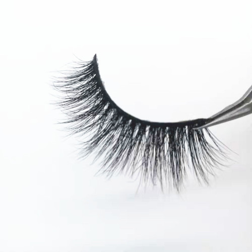 Factory Custom Logo Packaging  Mink Lashes Private Label False Eyelash With package  case