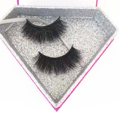 Qingdao veteran100% handmade  Custom package false eyelashes