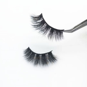 Qingdao supplier  Private Label Mink Eyelashes Own Brand Eyelashes