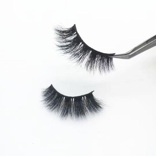 Qingdao supplier  Private Label Mink Eyelashes Own Brand Eyelashes