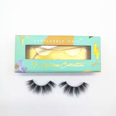 Factory Directly Supply mink eyelashes vendor  wholesale price real handmade lash