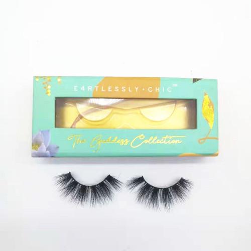 Factory Directly Supply mink eyelashes vendor  wholesale price real handmade lash