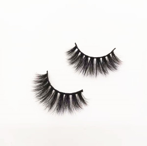 Hand made create your custom private label mink eyelashes own brand eyelashes