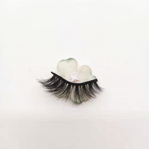 Qingdao premium regular length eyelash