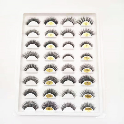 Qingdao veteran popular design manufactory premium  faux mink eyelashes