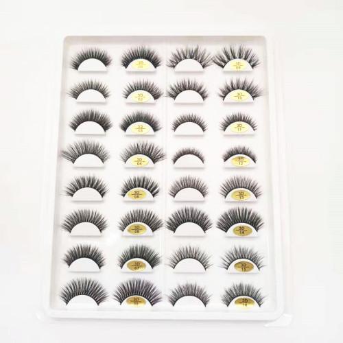 Qingdao veteran popular design manufactory premium  faux mink eyelashes