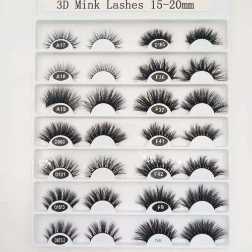High Quality Cheap Custom Cruelty Free Wholesale Fake Mink regular Eyelashes