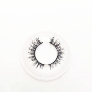 Professional wholesale faux mink eyelashes  with packaging box 3d mink eyelashes