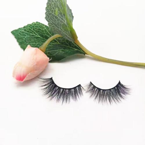 Wholesale private label Mink Eyelashes Vendor ,custom logo handmade Own Brand 15,20mm eyelashes