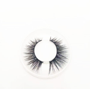 Wholesale private label Mink Eyelashes Vendor ,custom logo handmade Own Brand 15,20mm eyelashes