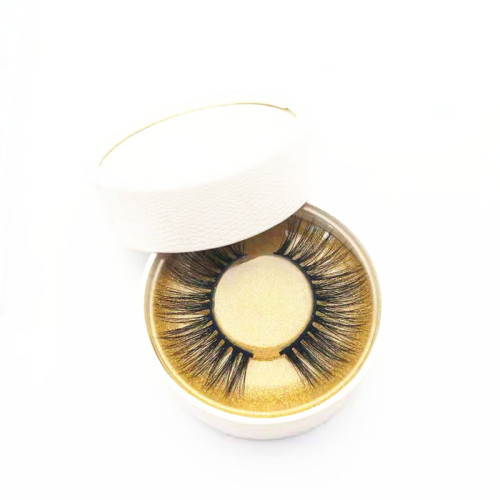 Different Styles  beautier Mink Eye Lashes Private Label Box Soft Strip Lashes