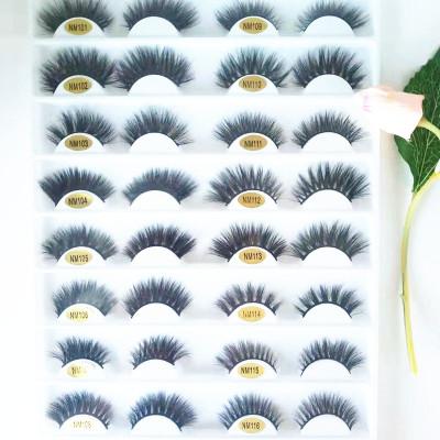 Qingdao veteran accept custom logo and package comfortable mink eyelash