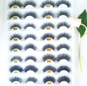 Qingdao veteran accept custom logo and package comfortable mink eyelash