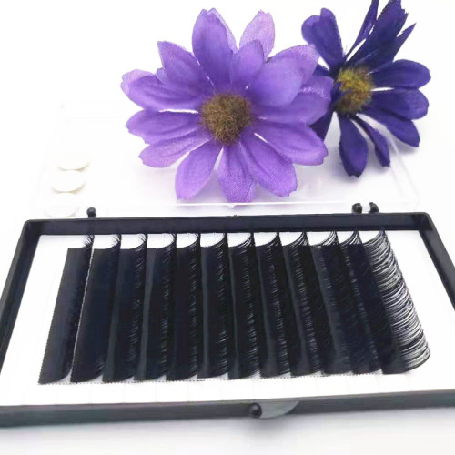 Handmade individual new style volume silk mink bulk private label eyelash extension