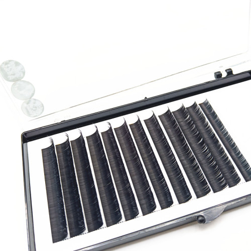 China best Individual mink lashes D curl 0.15 eyelash extensions