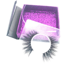 Best Quality Full Hand Made Real Fur Strip Mink False Eyelash With Private Label Vendor