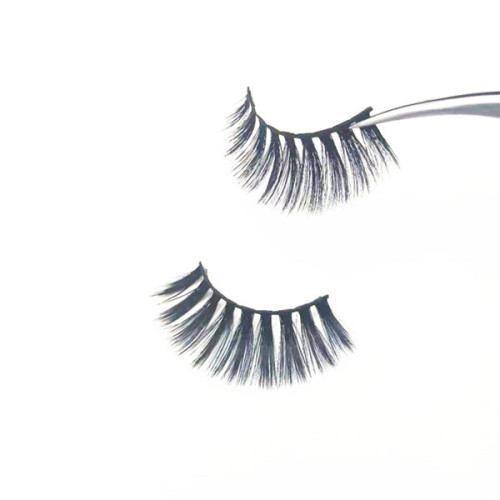 Made in CHINA permanent  faux mink lashes strips 3D  false eyelashes