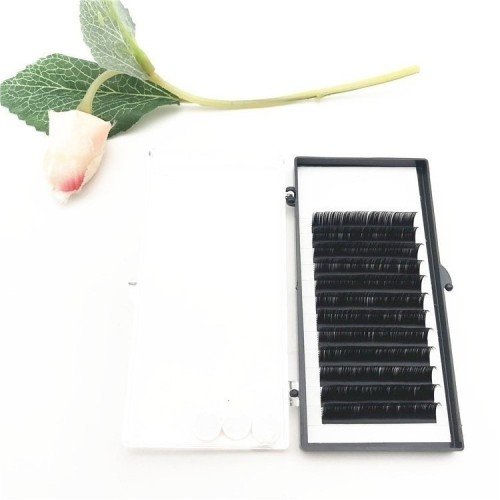 Dark Black Lightweight Softness Wholesale  Individual silk Mink extension  0.10